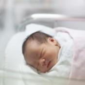 В Дзержинском перинатальном центре родился первый малыш