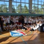 В Дзержинске открылась баскетбольная площадка, оборудованная по стандартам NBA