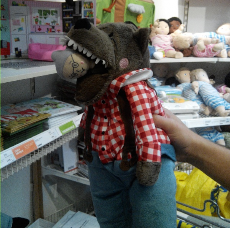 Сюрпризы в детских магазинах