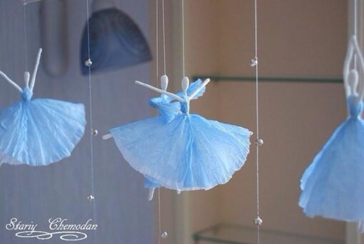 Балерина из бумаги своими руками фото